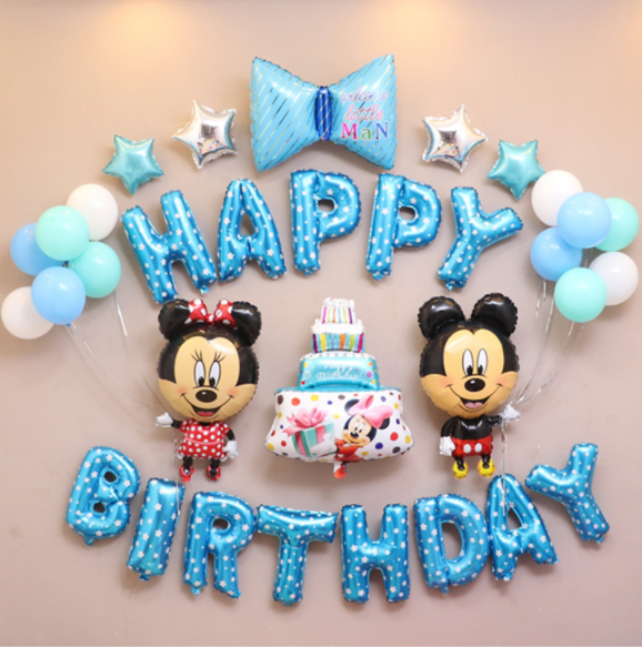 Disney Mickey and Minnie Balloon Set for Boy