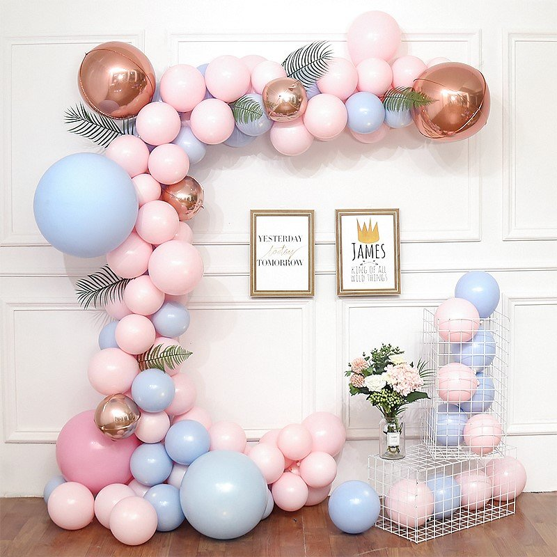 Rose Gold Balloon Arch - Adult Party Decors in UAE