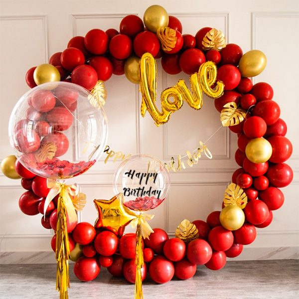 Forever Love Balloon Set Engagement Proposal Anniversary parties decorators in Dubai