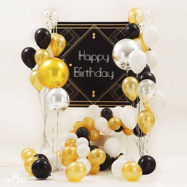 The Great Gatsby Balloon Set - Best Adult Party Supplies in Town