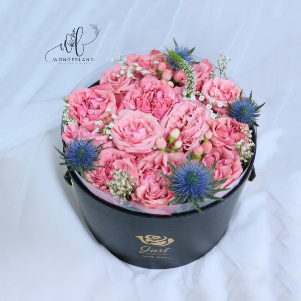 Pink and Positive Buy online Flower Gifts in Dubai
