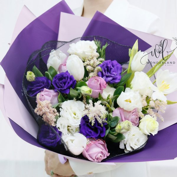 The Purple Patch Buy online Flowers in Dubai Sharjah and Ajman